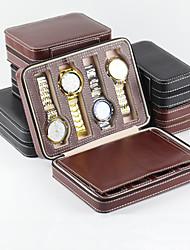 cheap -Square Jewelry Box - Black, Brown 23 cm 18 cm 6 cm