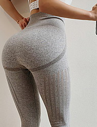 cheap -Women's Sporty Sweatpants Pants - Solid Colored Black Yellow Blushing Pink S M L