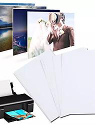 Недорогие -100 листов 7-дюймовая фотобумага глянцевая бумага для печати принтер фотобумага цветная печать мелованная бумага