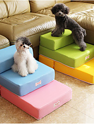cheap -Dog Stairs & Steps & Ladder Portable Lightweight Durable Cute Foam Yellow Blushing Pink Red 1 Piece