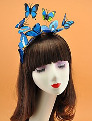 cheap -leatherette Fascinators with Trim 1 Piece Wedding Headpiece
