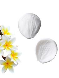 Недорогие -Сахарный цветок моделирования текстуры штемпель лютик plumeria силиконовые силиконовые сахарная помадка торт силиконовые формы кухонные инструменты