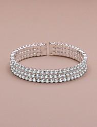 cheap -Women's Bracelet Layered Precious Luxury Rhinestone Bracelet Jewelry White For Wedding Party