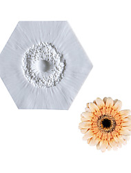 cheap -Sunflower Heart Mold Fondant Cake Silicone Mold Home Baking Utensil