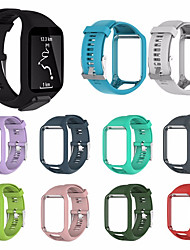 cheap -Watch Band for TomTom Golfer 2 / TomTom Spark 3 / TomTom Runner 2 TomTom Sport Band / Classic Buckle / Modern Buckle Silicone Wrist Strap