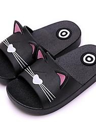cheap -Girls' Comfort PVC Slippers & Flip-Flops Big Kids(7years +) Pink / Blue / Black Spring