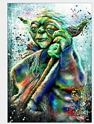 cheap -5D Diamond Painting Cross Stitch Star Wars Yoda Embroidery Diamond Mosaic Picture Rhinestones Craft Icon Needlework Home Decor 30*40cm