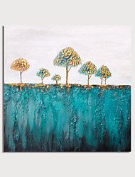 cheap -Hand Painted Canvas Oilpainting Abstract Landscape by Knife Home Decoration with Frame Painting Ready to Hang