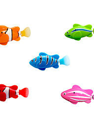cheap -Interactive Toy Interactive Cat Toys Fun Cat Toys Cat 1pc Pet Friendly Fish Plastic Gift Pet Toy Pet Play