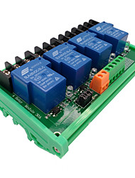 cheap -4  Way 5V Relay Module 30A High And Low Level Trigger Intelligent Home PLC Automatic Control