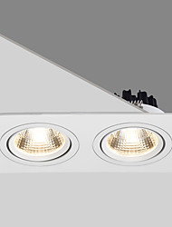 cheap -PUSHENG 1pc 20 W 1800 lm 2 LED Beads Recessed Spot Light 220-240 V Commercial Home / Office