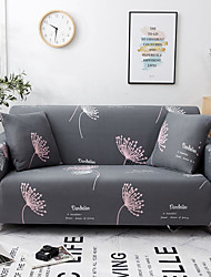 cheap -Sofa Cover Stretch Cheap Couch Cover 1 Piece Soft Durable Slipcovers Washable Furniture Protector Loveseat L-shape(You will Get 1 Throw Pillow Case as free Gift)