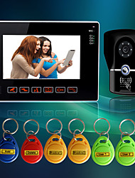 cheap -Wired 9 Inch Hands-free 800*480 Pixel One To One Video Doorphone