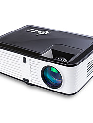 cheap -1080P LED Full HD Home Video Projector with HDMIx2/USBX2/SD/AV/VGA Ports Compatible with Smartphone/VGA/TV/PS4/DVD Ideal for Home Theater(Loud Sound)