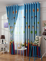 cheap -Gyrohome 1PC Pencils Shading High Blackout Curtain Drape Window Home Balcony Dec Children Door *Customizable* Living Room Bedroom Dining Room