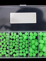 Недорогие -Рыбалка УФ мягкое свечение шариков Коробка для рыболовной снасти Мягкость Ластик