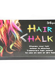 cheap -Temporary Hair Chalk Non Toxic Washable Hair Color for Hair Dye-Safe for Kids for Party Cosplay DIY (36 Colors)