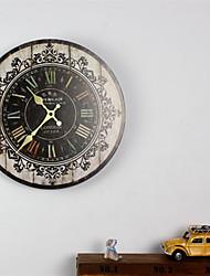 Недорогие -Деревянные расписные картины настенные часы украшения дома кулон
