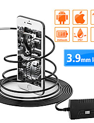 cheap -2.0MP Wireless Endoscope Camera WiFi Borescope 1m/3.5m/5m Inspection Camera IP67 Flexible Snake Camera for Android iOS PC 3.9MM