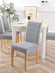 cheap -Chair Cover Dining Room Chair Slipcovers Stretch Furniture Protector Covers Removable Washable Elastic Parsons Seat Case for Restaurant Hotel Ceremony