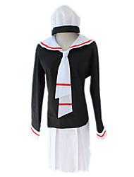 cheap -Inspired by Cardcaptor Sakura Kinomoto Sakura Anime Cosplay Costumes Japanese Cosplay Suits Top Skirt Cap For Women's / Tie