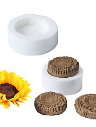 Недорогие -подсолнечное сердце плесень помадка торт силиконовые формы инструмент для выпечки