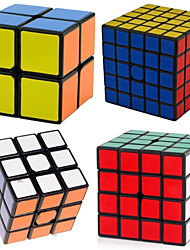 cheap -Speed Cube Set 4 pcs Magic Cube IQ Cube 2*2*2 3*3*3 4*4*4 Magic Cube Stress Reliever Puzzle Cube Professional Level Speed Classic & Timeless Kid's Adults' Toy Gift / 14 years+