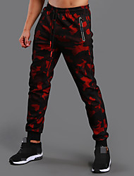 cheap -Men's Jogger Pants Joggers Running Pants Track Pants Sports Pants Athletic Athleisure Wear Bottoms Sport Running Fitness Jogging Breathable Quick Dry Soft Black Red Blue Camouflage / High Elasticity