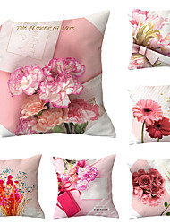 cheap -Set of 6 Throw Pillow Simple Classic 45*45 cm Cushion Vintage Circle Cover Sofa Home Decor Throw Pillow Case