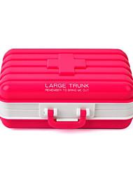 cheap -Medecine Storage Organization Collection plastic portable Square Flip-open Cover
