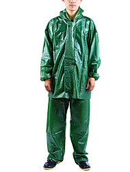 cheap -Protective Clothing Anti Dust And Droplet Men's Suit, Solid Colored Turndown Long Sleeve Polyester Army Green