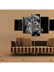 cheap -5 Pieces Printing Decorative Painting  Oil Painting  Home Decorative Wall Art Picture Paint on Canvas Prints Animals Abstract Landscape