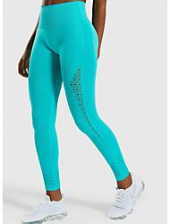 cheap -Women's Sporty Sweatpants Pants - Solid Colored Black Purple Blushing Pink S M L