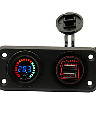 cheap -Iztoss Car Car Charger 2 USB Ports for 5 V
