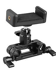 Недорогие -Camvate регулируемый зажим для мобильного телефона 15 мм стержень зажим адаптера 1/4-20 шаровой головкой крепление c2228