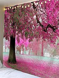 Недорогие -красивый красный большое дерево напечатаны большие настенные гобелены дешевые хиппи на стене богемные настенные гобелены мандала стены искусства декора