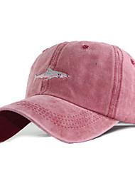 cheap -Men's Women's Basic Cotton Baseball Cap-Solid Colored All Seasons Black Wine Gray