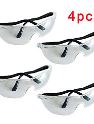 cheap -4PCS Cycling Goggles Anti Droplets Dust-proof Protective Glasses For Women Men Prevent saliva Safety Glasses