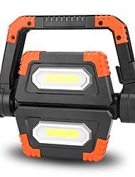 Недорогие -Походные светильники и лампы Светодиодная лампа LED излучатели Портативные Складной Прочный Походы / туризм / спелеология Повседневное использование Велосипедный спорт Оранжевый Синий