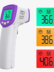 cheap -Color Thermometer Forehead Digital Forehead / Infrared Ear Thermometer With LED Display Suitable for Infants / Adults