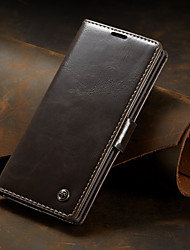 cheap -CaseMe Business Luxury Leather Magnetic Flip Case For Samsung Galaxy Note 10 / Note 10 Plus Full Body Case With Wallet Card Slot Stand Case Cover
