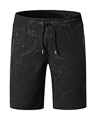 cheap -Men's Beach board shorts Swimsuit Lace up Paisley Black Dark Gray Navy Blue Swimwear Bathing Suits