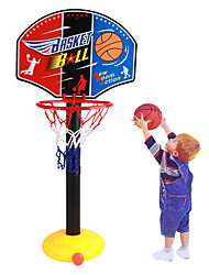 cheap -Basketball Toy Basketball Hoop Basketball Goal Toy Ball Pump Basketball Hoop Set Mini Portable Height Adjustments Adjustable Sports Outdoor Indoor Plastics 20-45 inch 14 years+ Boys' Girls' Boys and