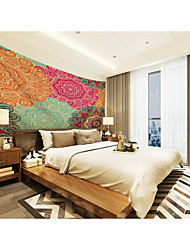 cheap -Custom Tapestry painting bohemian flower color suitable for bedroom living room Party activities TV background wall decoration wall clothes  Wall Tapestries Decoration