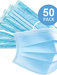 cheap -50pcs  Face Mask Portable / Dust Proof / Disposable Health Care / Anti-Dust / Protection Nonwoven Fabric Daily Wear / Office & Career Universal / Face / Casual / Daily