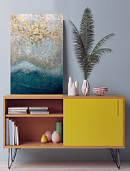 cheap -Oil Painting Handmade Hand Painted Wall Art Sea Beach Landscpe Home Decoration Décor Stretched Frame Ready to Hang