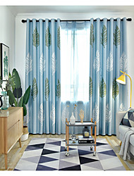 cheap -Gyrohome 1PC Four Row Leafs Shading High Blackout Curtain Drape Window Home Balcony Dec Children Door *Customizable* Living Room Bedroom Dining Room