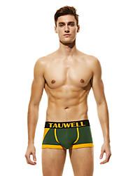 cheap -Men's Basic Boxers Underwear / Briefs Underwear - Asian Size Low Waist Black Army Green Red M L XL