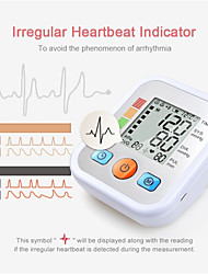 cheap -Blood Pressure Meter Foreign Trade Electronic Blood Pressure Meter Household Arm Strap Type Accurate Measurement Electronic Digital Display Health tracker Essential Products for The Elderly at Home