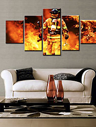 cheap -5 Panels Modern Canvas Prints Painting Home Decor Artwork Pictures DecorPrint Rolled  Stretched  Modern Art Prints Landscape People